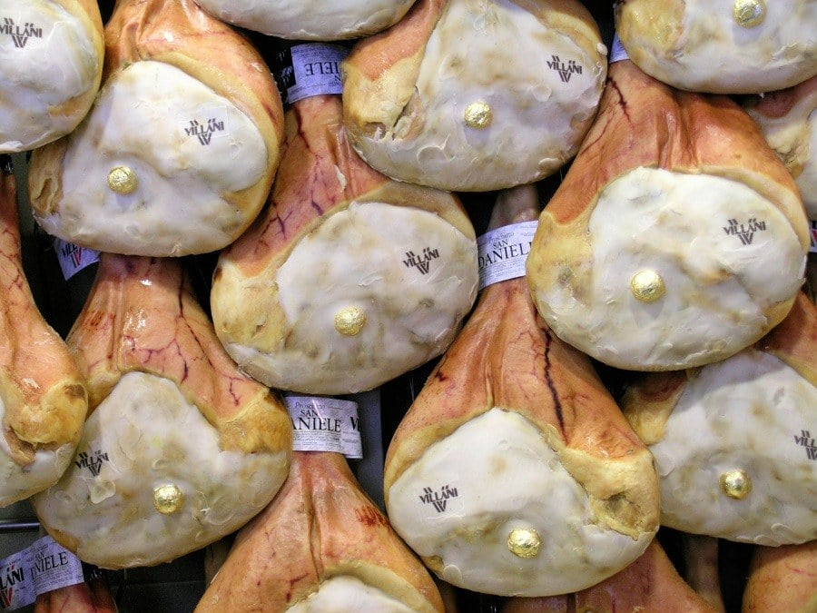 """Presunto San Daniele: o delicioso """"prosciutto"""" do Friuli"""