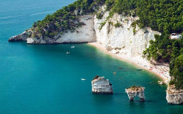 15 praias paradisíacas na Puglia