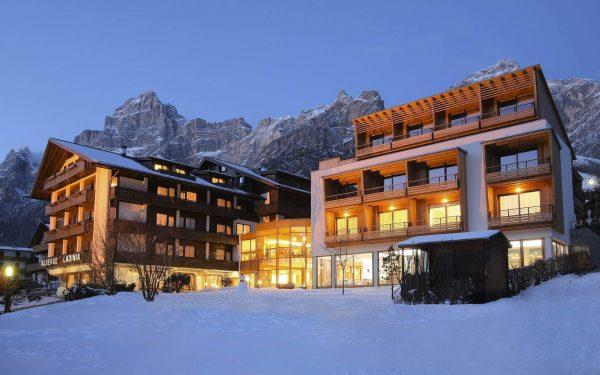 Hotéis nas Dolomitas com vista panorâmica